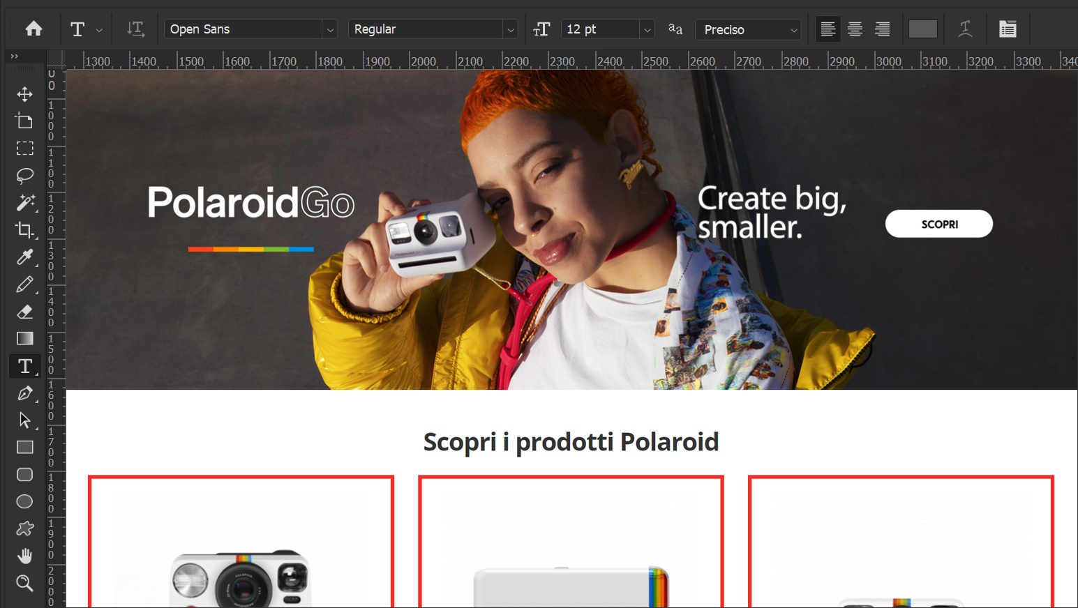 Polaroid Construction